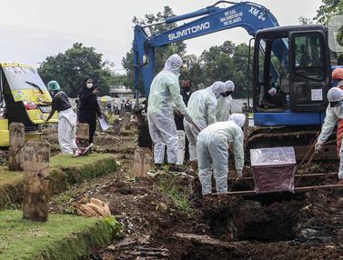 FOTO: Angka Kematian Akibat COVID-19 di Jakarta Diklaim Masih Rendah