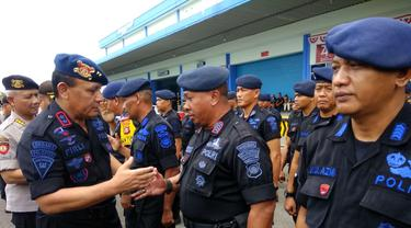Kapolri Kirim 250 Anggota Brimob Polda Sumsel Amankan Papua