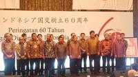 cara Peringatan 60 Tahun Hubungan Diplomatik Indonesia-Jepang di Hotel Indonesia Kempinski, Jakarta Pusat. (Liputan6.com/Putu Merta Surya Putra).