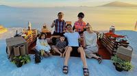 Road Trip Keluarga Daniel Mananta (Sumber: Instagram/vjdaniel)