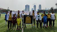 Asiana Soccer School membangun sepak bola Indonesia. (Istimewa).