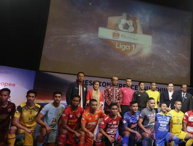 FOTO: Suasana Kemeriahan Peluncuran Shopee Liga 1 Indonesia 2019