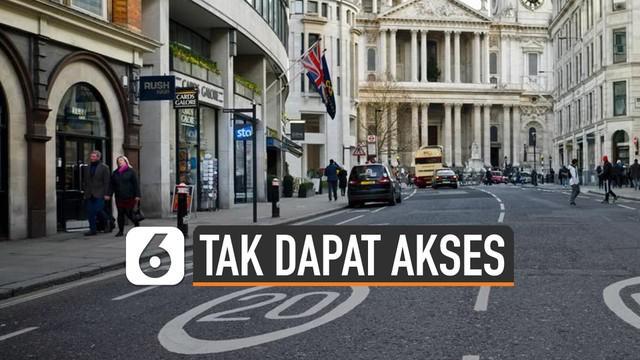 Kendaraan bensin dan solar tak akan dapat akses jalan di London tahun 2020.