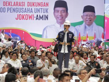 Deklarasi Dukungan 10.000 Pengusaha untuk Jokowi-Amin