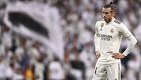 Pemain kidal tersebut hanya mencetak 13 gol dalam 34 pertandingan bersama Real Madrid. Manchester United sudah memperlihatkan ketertarikan merekrut Gareth Bale juni nanti. (AFP/Oscar del Pozo)