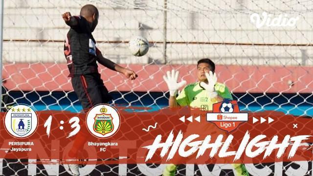 Babak Penyisihan #ShopeeLiga1 yang mempertemukan #Persipura Jayapura  vs #Bhayangkara FC pada hari kamis malam (07/11/2019) berakh...