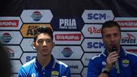 Pelatih Persib Bandung Miljan Radovic optimis menang menghadapi Tira-Persikabo. (Huyogo Simbolon)