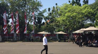 Pengusaha Bahlil Lahadalia datang ke Istana Kepresidenan Jakarta