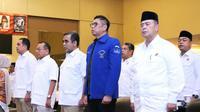 Ketua DPD Demokrat Sumbar Mulyadi menghadiri Rakerda Gerindra (Istimewa)
