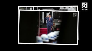 Presiden Jokowi menjadi inspektur upacara Hari Kesaktian Pancasila pada 1 Oktober 2017 di Lapangan Monumen Pancasila Sakti.