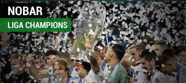 Real Madrid dan Liverpool menggelar nonton bareng final Liga Champions di Stadion Santiago Bernabeu dan Anfield.
