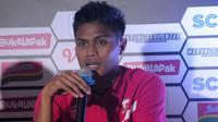 Fachrudin Wahyudi Aryanto, bek Madura United. (Bola.com/Vincentius Atmaja)