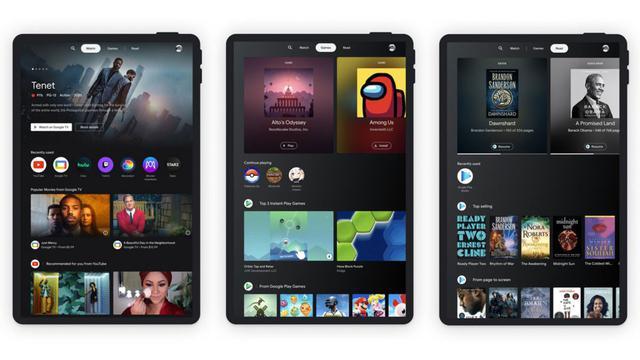 Google Gulirkan Entertainment Spaces untuk Tablet Android
