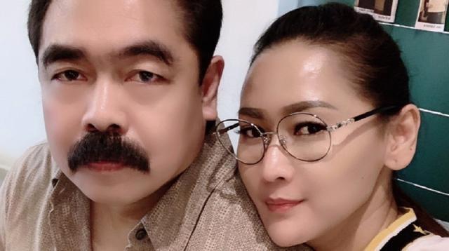 Inul Dararista dan Adam Suseno (Dok.Instagram/@inul.d/https://www.instagram.com/p/BvTwDg2lUl2/Komarudin)