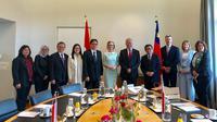 Menteri Perdagangan Enggartiasto Lukita, mengajak investor Liechtenstein berinvestasi di Indonesia. Dok Kemendag