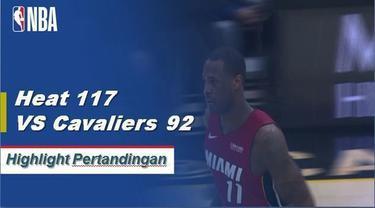 Josh Richardson mencetak 24 poin ketika tujuh pemain Miami Heat yang berbeda mencetak dua digit, mengalahkan Cavaliers 117-92.
