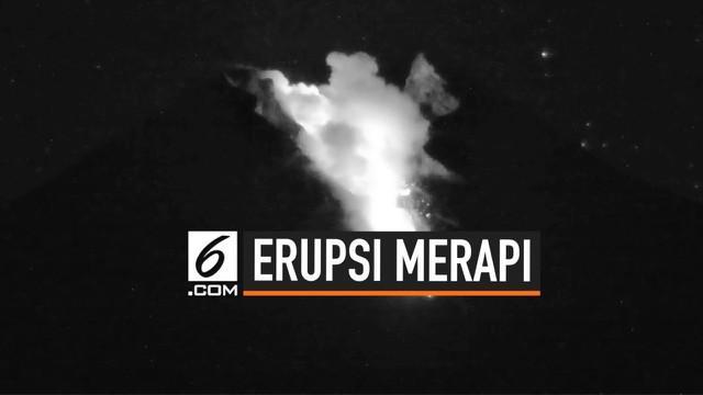 Gunung Merapi terus menunjukkan aktifitas vulkanis. Dalam kurun waktu 12 jam, Merapi sudah 4 kali mengeluarkan lava pijar.