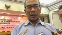 Komisioner Komisi Pemilihan Umum (KPU) Hasyim Asyari (Liputan6.com/Yunizafira)
