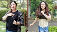 6 Transformasi Vicky Shu Sebelum Vs Sesudah Diet Ketat, Turun 18 Kg (sumber: Instagram.com/vickyshu)