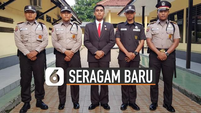 Kapolri Jenderal Idham Azis merilis aturan baru seragam dan atribut anggota Satpam.