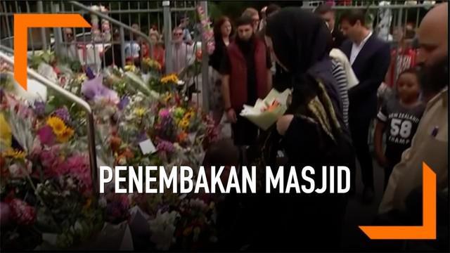 Aksi teror penembakan dua masjid Selandia Baru menewaskan lima puluh orang warga muslim.
