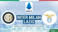 Serie A - Inter Milan Vs Lazio (Bola.com/Adreanus Titus)