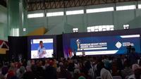 Wapres Jusuf Kalla hadiri Indonesian Migrant Workers Awards 2018 pada Selasa (18/12/2018) (Foto: Merdeka.com/Yayu Agustini Rahayu)