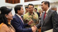 Rapat Banggar DPR dengan Menkopolhukam dan Menko Kemaritiman