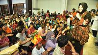 Perayaan hari disabilitas di Surabaya, Jawa Timur. (Foto: Liputan6.com/Dian Kurniawan)