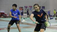 Ganda putri Indonesia Greysia Polii terus berlatih jelang Piala Sudirman 2021. Berpasangan dengan Apriyani Rahayu, Greysia siap tampil di kejuaraan beregu campuran itu. (foto: PP PBSI)