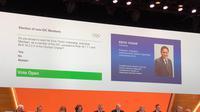 Erick Thohir ditunjuk untuk menduduki kursi Member IOC bersama puluhan tokoh olahraga   dunia lain.