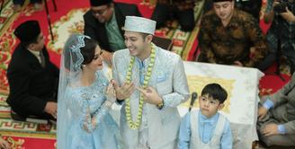 Rifky Balweel memberi tanggapan soal ketidakhadiran Risty Tagor di pernikahannya.