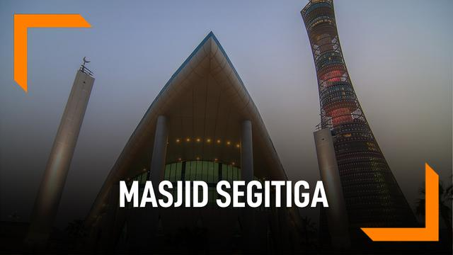 Deretan Masjid Segitiga di Dunia Mirip Masjid Al Safar