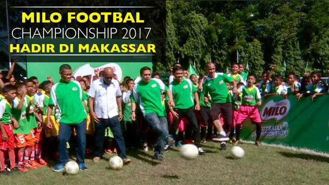 Setelah Jakarta, Medan dan Bandung, MILO Football Championship 2017 singgah di kota Makassar.