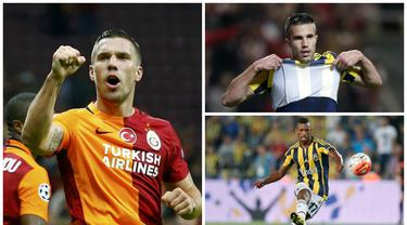 Inilah 7 transfer besar Liga Turki dari klub-klub Premier League Inggris. (www.squawka.com)