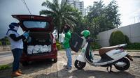 Meriahkan Ramadan, Grab dan YPO Bagikan 100.000 Paket Berbuka Bagi 25.000 KK di Jakarta. Kredit: Grab