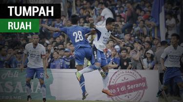 Berita video momen suporter tumpah ruah menonton laga Perserang Serang melawan Persib Bandung di Stadion Maulana Yusuf pada Kamis (1/3/2018).