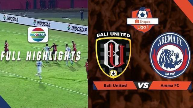 Berita video highlights Shopee Liga 1 2019 antara Bali United melawan Arema FC yang berakhir dengan skor 2-1, Sabtu (24/8/2019).