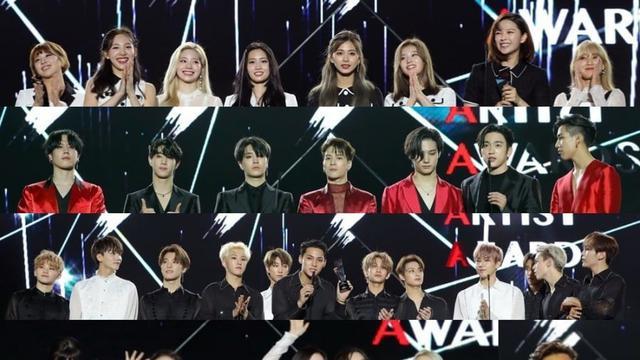 Daftar Pemenang Asia Artist Awards 2019 Yang Bertabur Bintang Showbiz Liputan6 Com