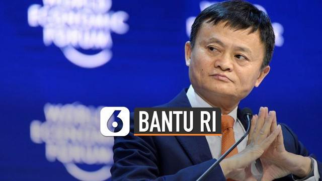 Taipan populer asal China, Jack Ma mengirim bantuan peralatan medis ke negara-negara terdampak COVID-19.