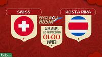 Piala Dunia 2018 Swiss Vs Kosta Rika (Bola.com/Adreanus Titus)