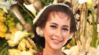 Paula Verhoeven, resmi menikah dengan Baim Wong. (Adrian Putra/Fimela.com)