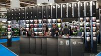 Ajang pameran buku Frankfurt Book Fair (FBF) 2018 yang diikuti Indonesia. (Dokumentasi KJRI Frankfrut)