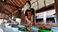 Menu baru WKM Kuningan Jawa Barat menambah kenikmatan para pecinta kuliner nusantara khususnya khas Sunda. Foto (Liputan6.com / Panji Prayitno)