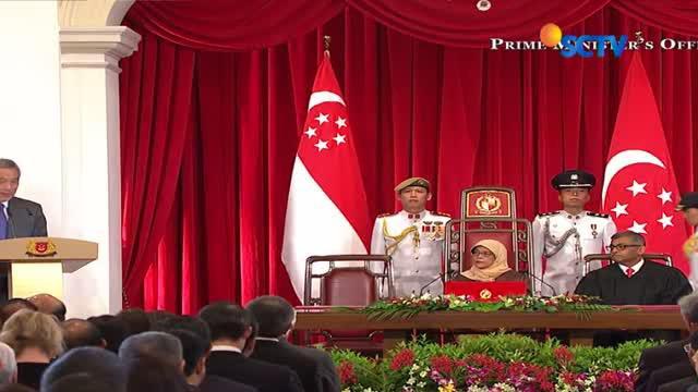 Setelah dilantik, presiden perempuan pertama di Singapura itu akan tetap tinggal di rumah susun yang telah Ia tinggali selama 20 tahun terak