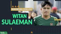 Wawancara Eksklusif Witan Sulaeman (Bola.com/Adreanus Titus)
