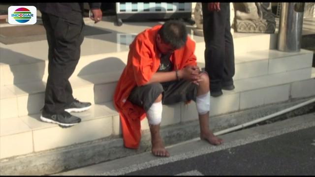 Diduga tak kuat menahan rindu pada sang istri, seorang tahanan di Satreskrim Polresta Denpasar, Bali, melarikan diri.