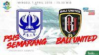 PSIS Semarang Vs Bali United (Bola.com/Adreanus Titus)