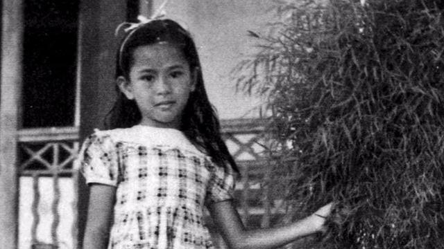 Aung San Suu Kyi kecil.