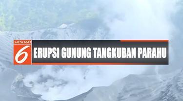 PVMBG tetap mengeluarkan rekomendasi larangan mendekat dalam radius 500 meter dari pusat kawah ratu Gunung Tangkuban Parahu.